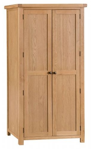 Chelmsford Oak Double Wardrobe